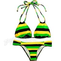 Jamaican Color Swimsuits | Home  Womens Rasta Wear and Bob Marley Clothing  Swimsuits and ...