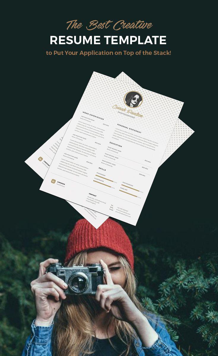 Creative and stylish resume, I love it!!!