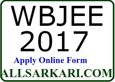 West Bengal Joint Entrance Examination Online Form 2017 Advt No : WBJEE 2017 Short Details of Notification Online applications are invited by West Bengal Joint Entrance Examination admission to different Degree level course in Engineering & Others from 12th (Intermediate) passed or appearing candidates. Candidate must read the details before apply Online. Important Dates Start …