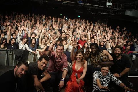 900 happy faces in our concert yesterday at O2 Academy. Thank you London for a sold out show, and, more importantly, a very, very emotional night! 900 χαρούμενα πρόσωπα στη χτεσινή μας συναυλία στο O2 ACADEMY. Λονδίνο, σε ευχαριστούμε για μια πολύ πολύ συγκινητική βραδιά. * Photo by Dimitris Lambridis
