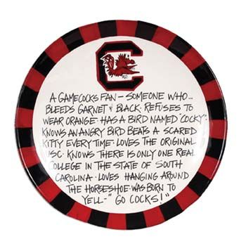 South Carolina Gamecock Definition Plate