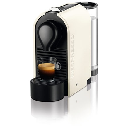 Cute and functional - the Nespresso U available at the new Nespresso shop on Grant Ave.