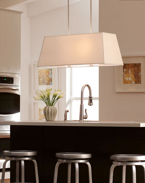 The four light dayna pendant light by seagull lighting