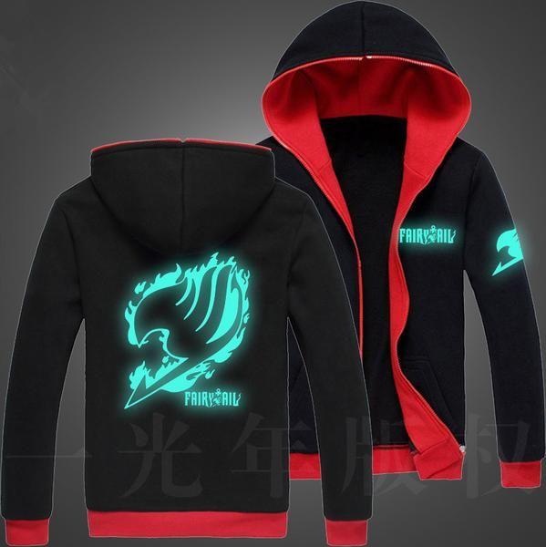 Fairy Tail Glow in the Dark Hoodie 5 Styles to Choose - OtakuForest.com