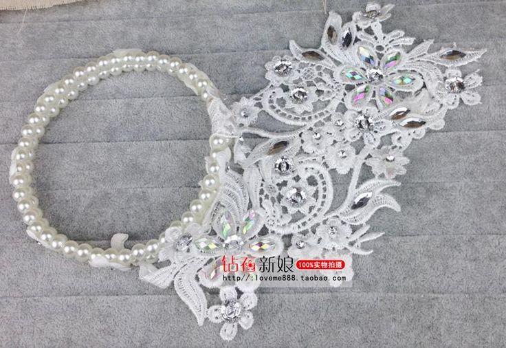 Свадебный головной убор кружева свадебные цветы сетка колпачок количество аксессуаров для волос корейских первый цветок красный аксессуары свадьба ювелирные изделия нового - Taobao