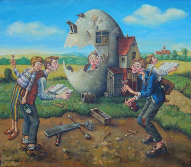 ArtGalery ° personalArt.pl, tytuł/title: Pojedynek Gigantów/Duel of giants autor: Dariusz Miliński http://personalart.pl/Dariusz-Milinski