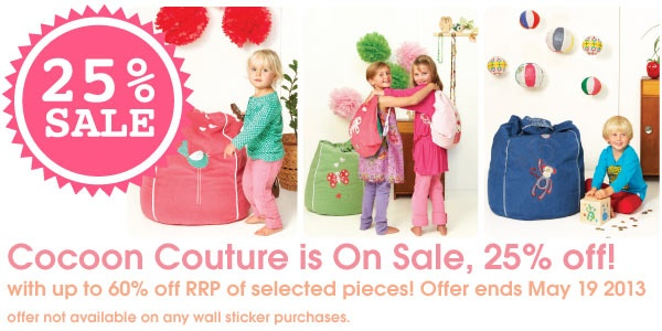 25% off sale @Cocoon Couture!