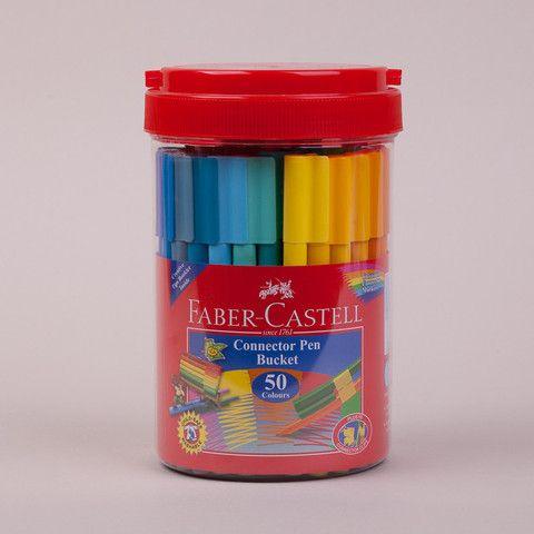 Best colouring pens for kids - Faber Castell Connector Pen Bucket Set