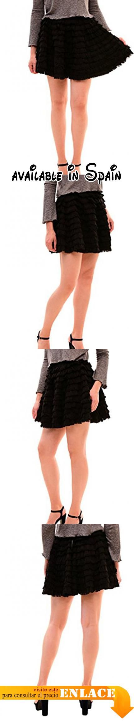 B076PR9P8R : Diesel - Falda - falda tubo - para mujer negro XS .