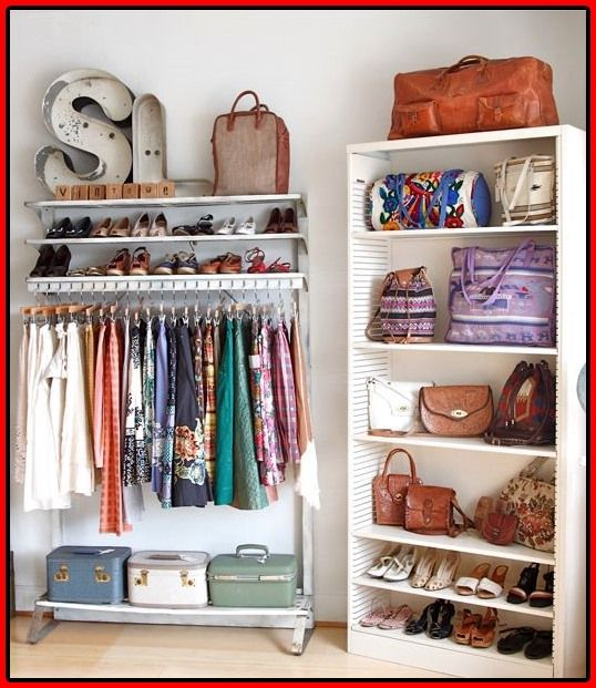 15 Clever Closet Ideen für kleine Räume Kleiner