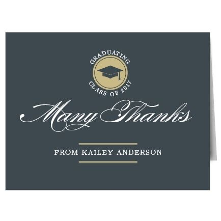 Best Graduation Thank You Cards Images On