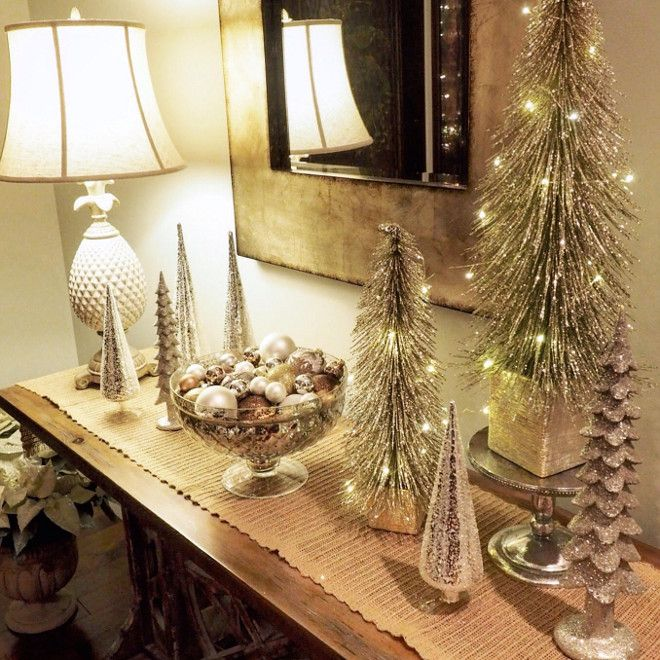 Elegant And Neutral Christmas Foyer: 1000+ Ideas About Foyer Decorating On Pinterest