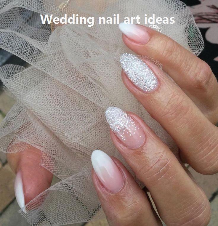 35 einfache Ideen für Hochzeitsnägel Design # Hochzeitsnägel   – Nageldesign schlicht – #Design #einfache #für #Hochzeitsnägel #Ideen