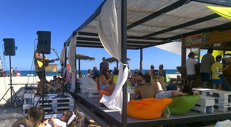 Ibar Praia, een gezellig barretje op het stand van Fuseta