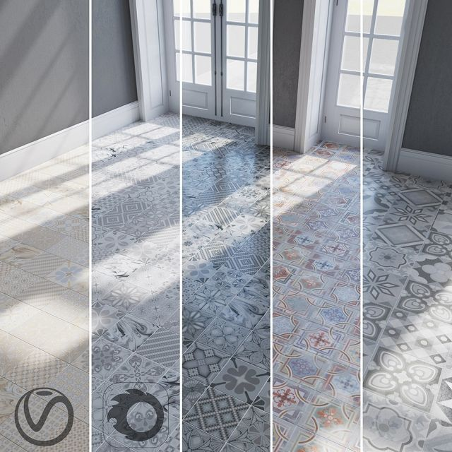 3d модели: Другие предметы интерьера - VIVES / Comillas / Tassel-crema / Tassel-grafito / Tassel-perla / Ribadeo-gredos