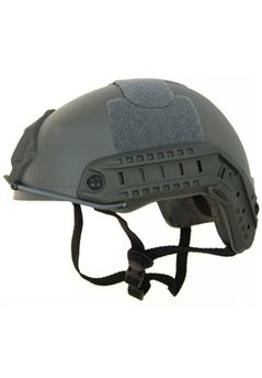 Airsoft Alien MH Type Tactical Olive Drab Fast Helmet With Side Rails and NVG Mount DE ! Buy Now at gorillasurplus.com