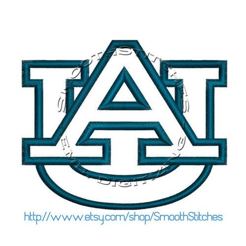 Auburn Uni Football Applique Design for Embroidery Machines   DesignsbyPepi - Digital Art  on ArtFire