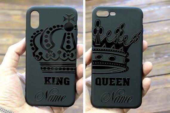 TTOTT iPhone X par Case 2 x Floral Best Friend BFF New Fashion par