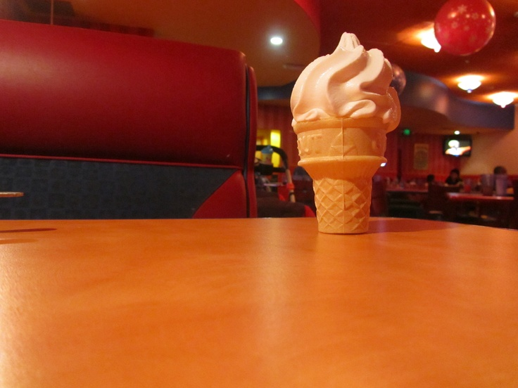 Ice Cream in Toon Time Theatre @ John's Incredible Pizza Co. http://www.johnspizza.com