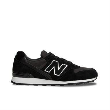 New Balance Women's 996 - Suede Black | Platypus Shoes