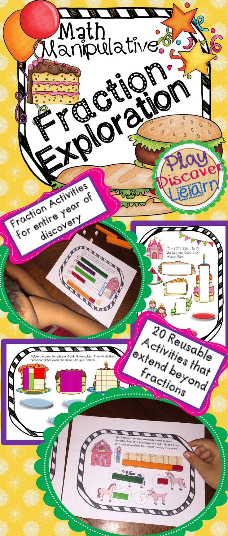 worksheet Cuisenaire Rods Worksheets 42 best cuisenaire rods images on pinterest kindergarten math rod activities this booklet includes over 20 fraction that are great for all