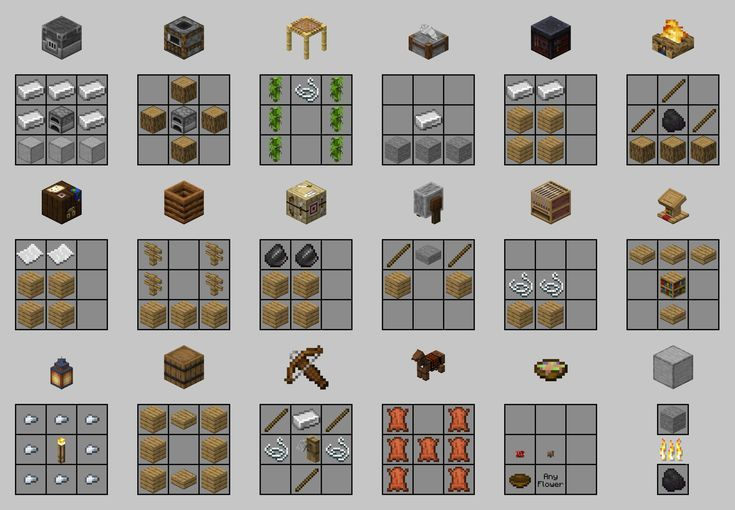 Image Of Crafting Recipes For The New Items From 1 14 Minecraft Minecraft Crafts Minecraft Crafting Recipes Minecraft Creations