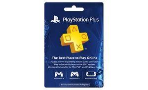 1 ano PlayStation Plus Membership