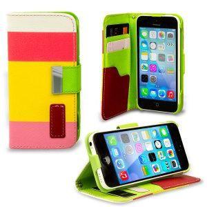 FoneBitz - iPhone 6 striped wallet case