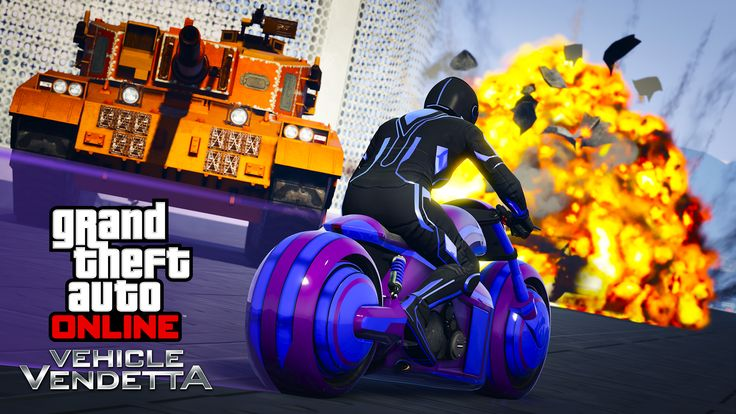 With a new year comes new content for Grand Theft Auto 5. Roar onto the streets of Los Santos with the brand new Pegassi FCR 1000 motorcycle, and take on friends and foe alike in the new Vehicle Vendetta adversary mode. You'll need skill with both your vehicle and your weapons to conquer the competition in the first update of another year of support for the acclaimed