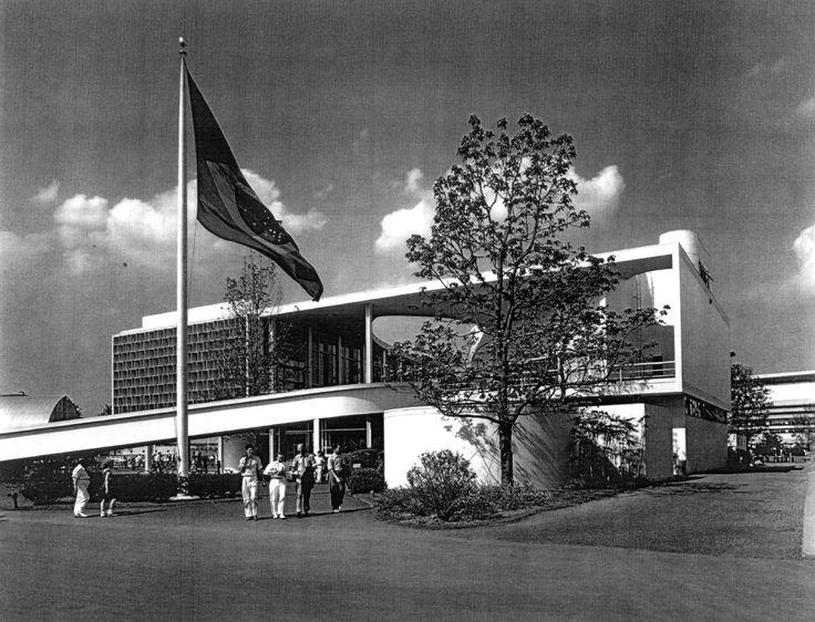 Clássicos da Arquitetura: Pavilhão Brasileiro de 1939 em Nova York / Lucio Costa e Oscar Niemeyer © Arqtexto 16