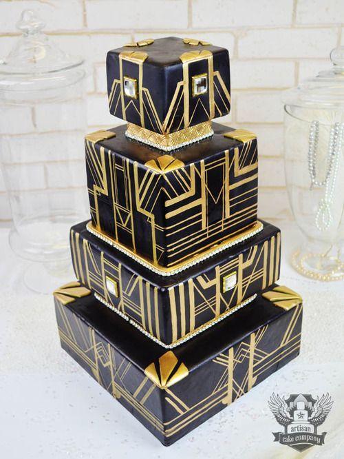 Art Deco Style Cake : 25+ Best Ideas about Art Deco Cake on Pinterest Art deco ...