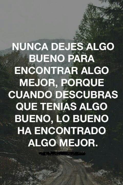 nunca dejes