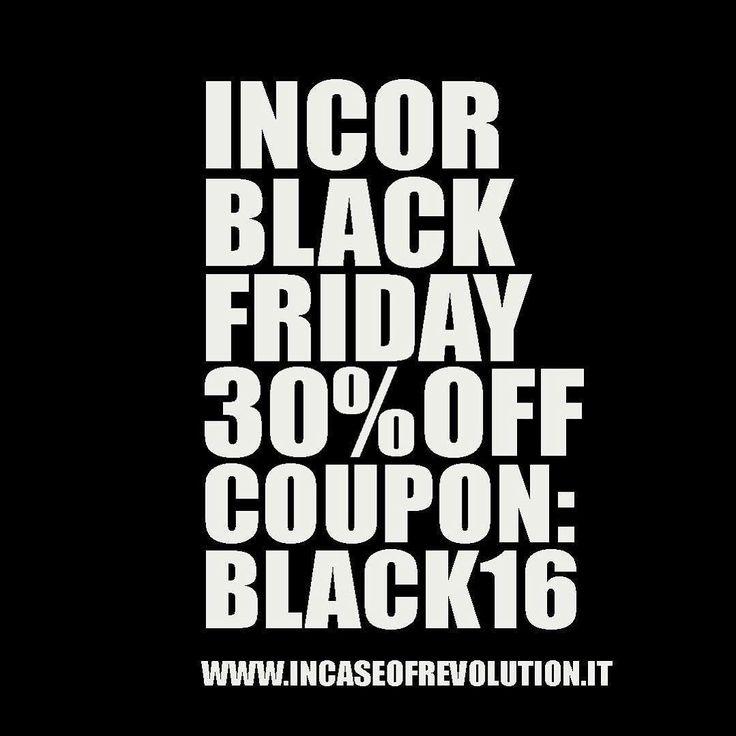 BLACK FRIDAY  da adesso fino a domenica -30% inserendo il coupon : BLACK16  #INCOR #blackfriday #incor #brand #italy #italia #torino #italianbrand #incaseofrevolution #graphic #swag #model #shooting #vans #jordan #new #marchio #streetwear  #incormood #revolution #vscocam #wear #street #tshirt #tee  #tattoo #artist #tanktop