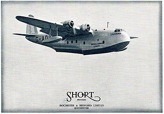 Short Brothers Empire Flying Boat: Imperial Airways