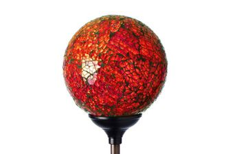 Murano Solar Powered Garden Globe - Sunset  One of our most popular solar garden lights - colour changing from green to blue to red. £19.99