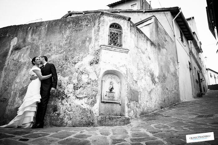 Altro B/N di grande effetto Wedding photographers in Tuscany
