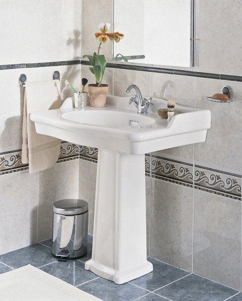132 best images about bathroom on pinterest - Lavabo salle de bain retro ...