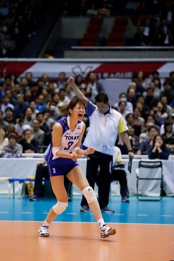 Kimura Saori at V.League (Japan)2014