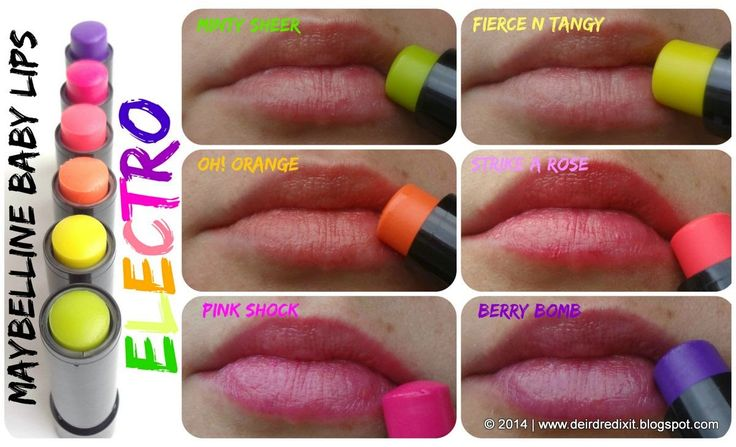 Maybelline Baby Lips Electro #rockyourkiss   Make up: Lips ...