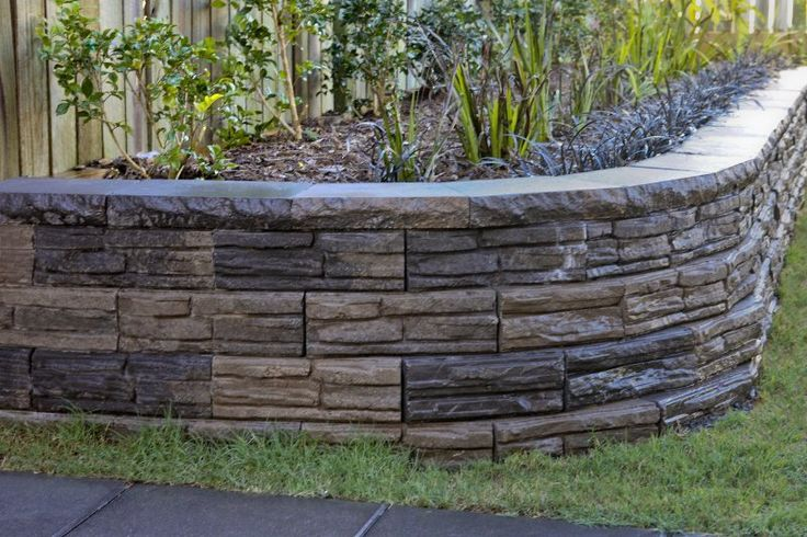 Backyard Retaining Wall Designs Alluring Design Inspiration