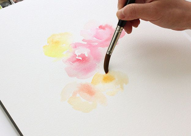38 best learning from yao cheng images on pinterest for Watercolor tutorial