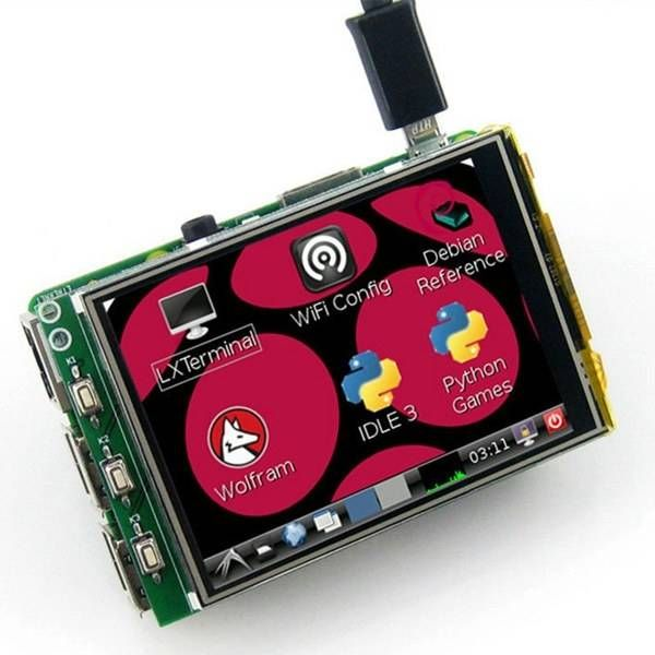 3.2 Inch TFT LCD Display Module Touch Screen For Raspberry Pi B+ B A+ Sale - Banggood.com