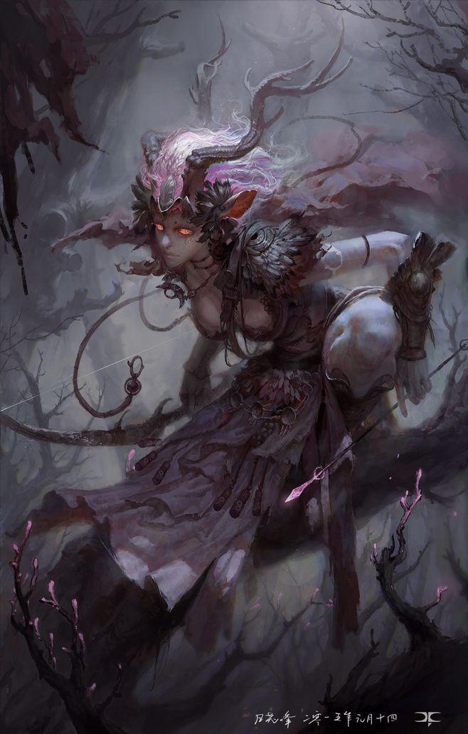 Female, druid (Kaalfaria)