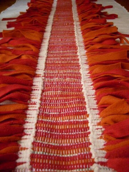 Jarapas....restos de telas a telar