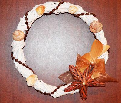 Mestesuguri Impletite - Handmade by Angel: Cum facem coronita de Craciun in casa?
