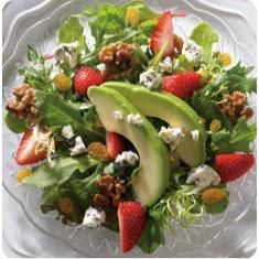 Spring Salad with Fruit and Nuts