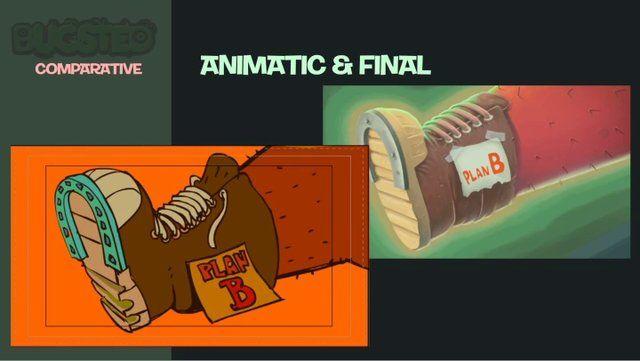 Comparative animatic&final