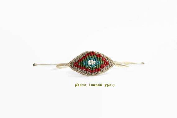 macrame evil eye favor bracelet LuckyEye Adjustable String  #stekiapantou #ioannaypo #thessaloniki #syros #macramejewelry #macramejewellery #macramebracelet #macrameart #macramedesign #greekdesigner #jewelryartist #jewelryaccessories #egst #etsyunique #etsybracelet #etsybestsellers #etsyjewelryshop #etsyjewelryshopowner #etsyjewelry#etsyhandmade #etsygiftideas #macrameevileye #evileye #martirika #greekbaptism #baptismorthodox #greektradition #baptismfavors #greekmati