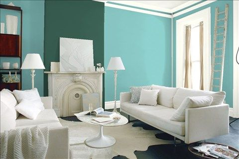 17 Best Ideas About Teal Accent Walls On Pinterest