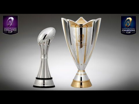 EPRC Champions Cup & Challenge Cup trophies